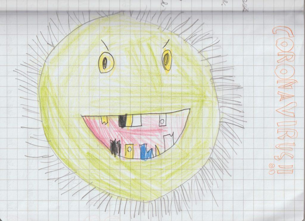 Come interpretare i disegni dei bambini: il disegno di Gaetano.